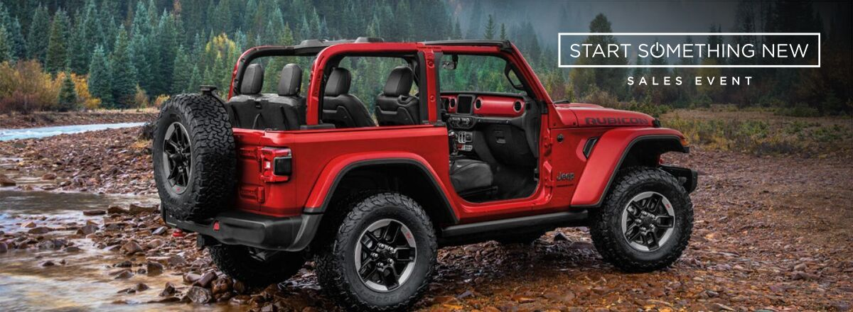 Start something new jeep
