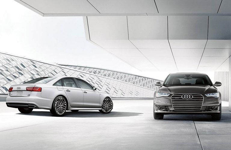 Two models of 2016 Audi A6