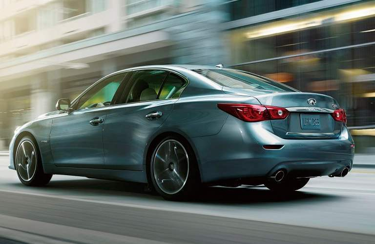 Used Infiniti Q50 Side View