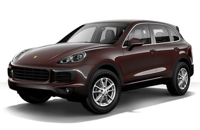 Used Porsche Cayenne Plano Front View