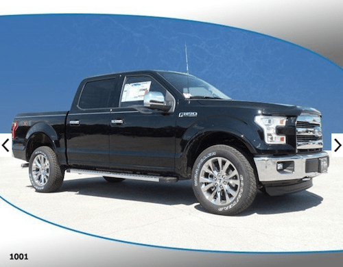2016 Ford F-150 LARIAT 4WD