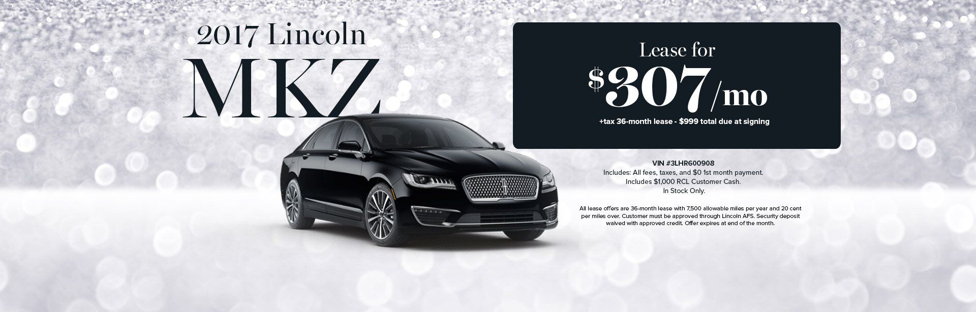 2017 MKZ Lease