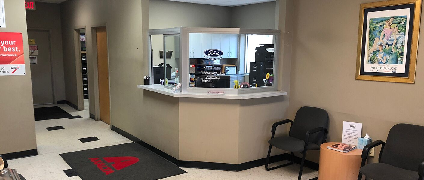 Collision Center at Ford of Clermont