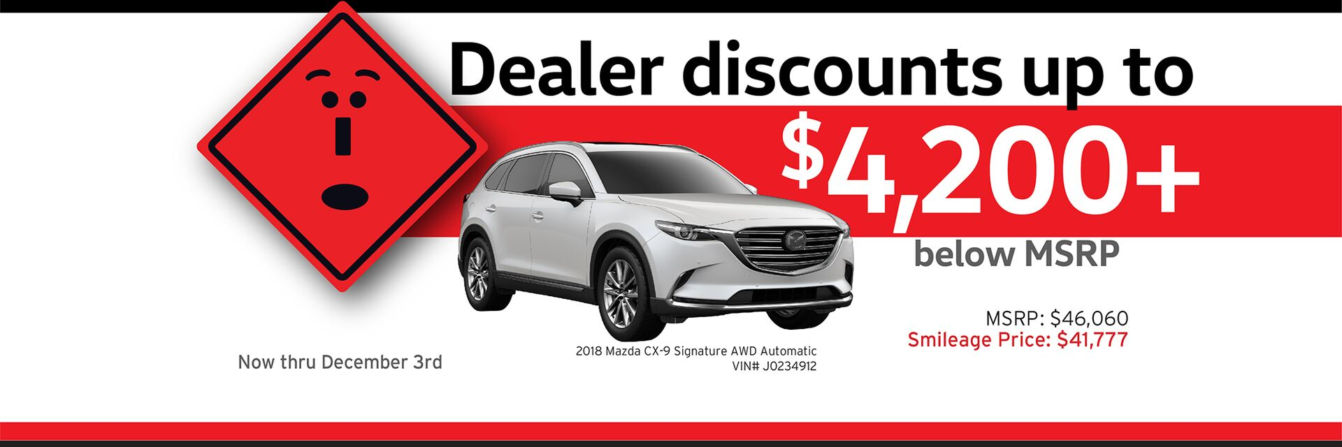 Capistrano Mazda Smileage discounts - Save up to $4,200+ below MSRP