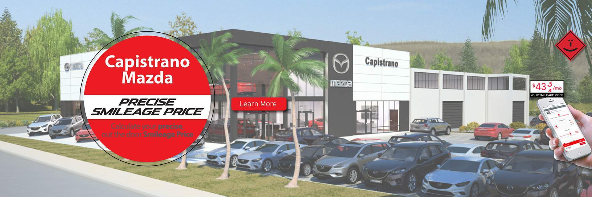 Calculate your Precise Smileage Price at Capistrano Mazda today!