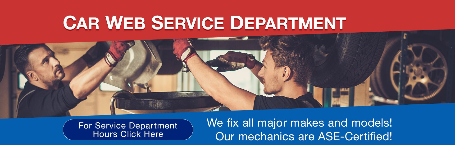 Service Department Hours
