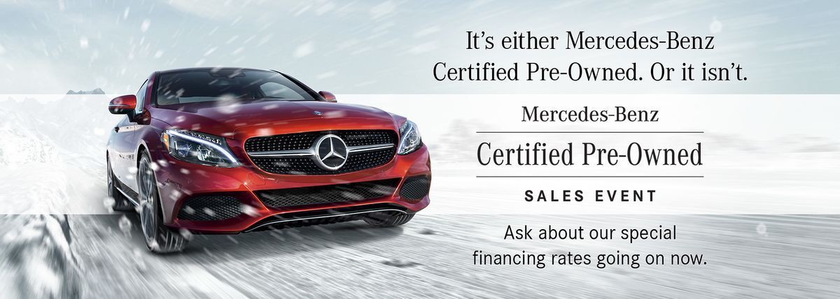 Certified Pre-Owned winter event