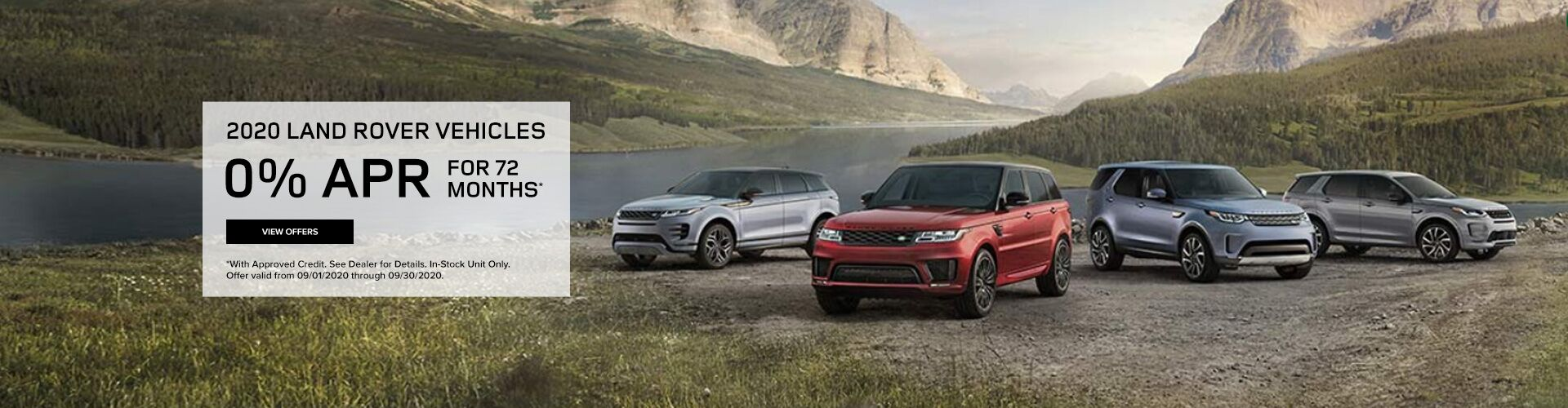 2020 Land Rover Vehicles