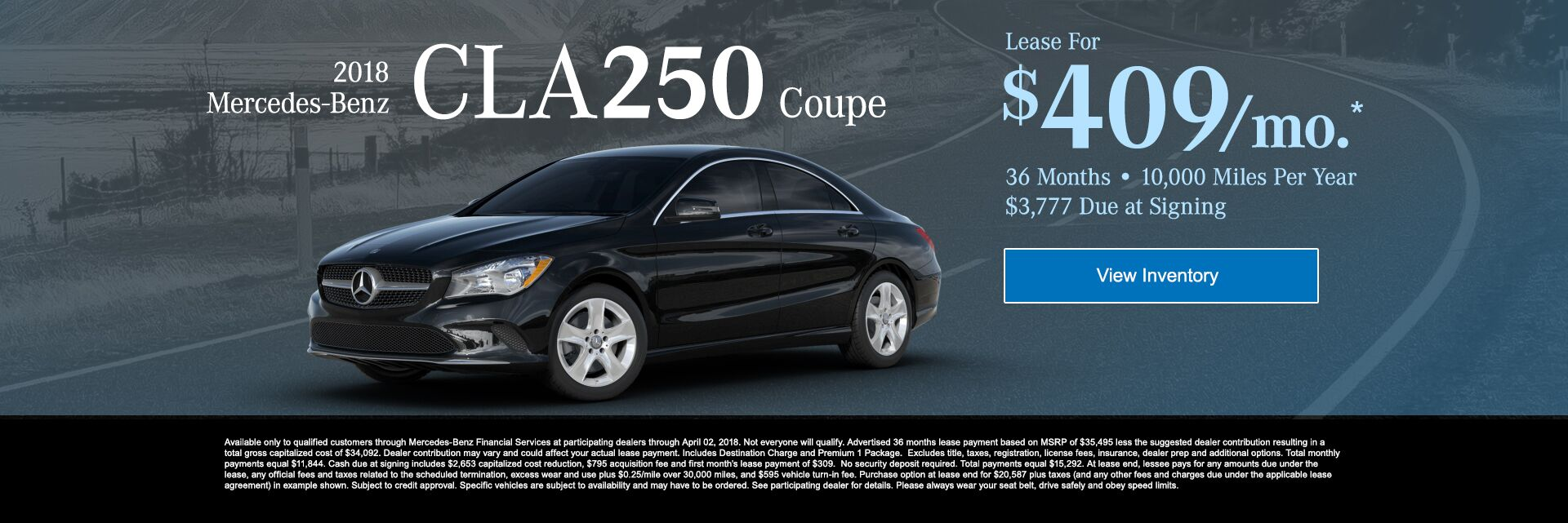 2018 Mercedes-Benz CLA250