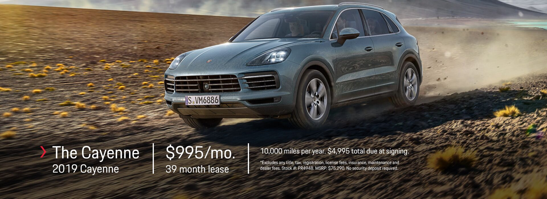2019 Cayenne Lease Offer