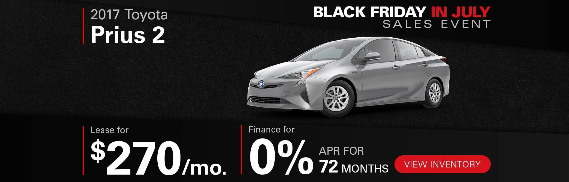 Black Friday In July Prius 2