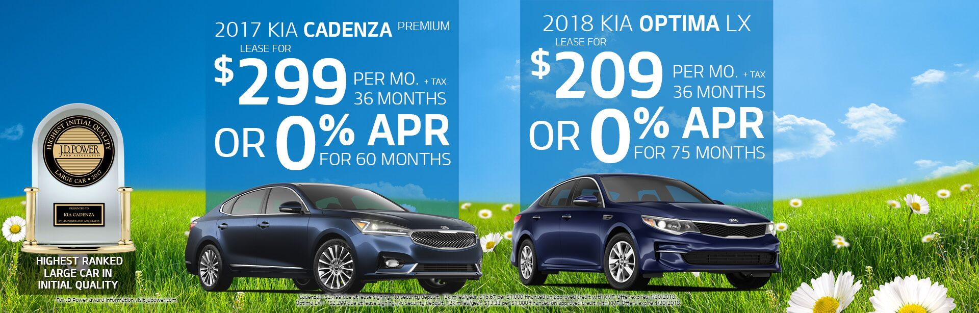 Cadenza & Optima Offers