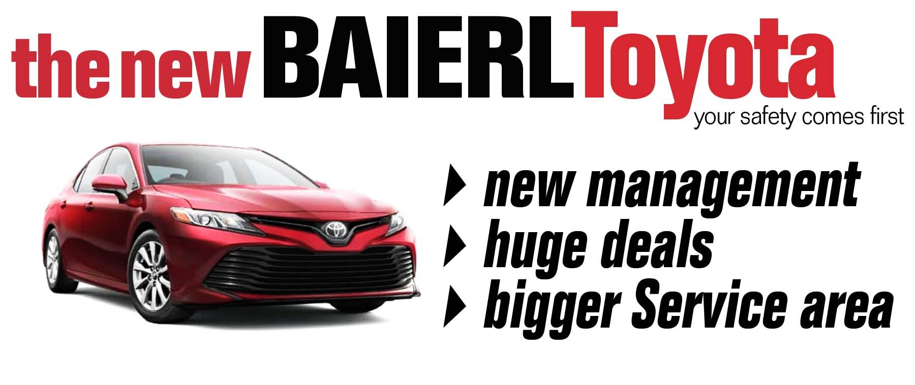The New Baierl Toyota