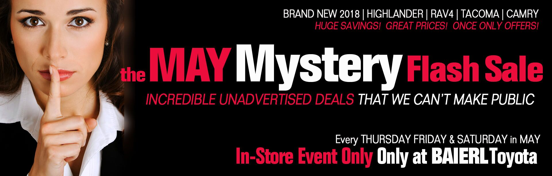 May Mystery Flash Sale