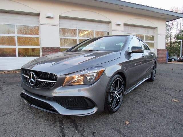 2018 Mercedes-Benz CLA 250 4MATIC® COUPE