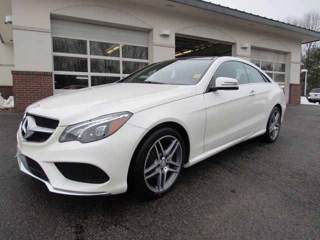 2017 Mercedes-Benz E 400 4MATIC® Coupe