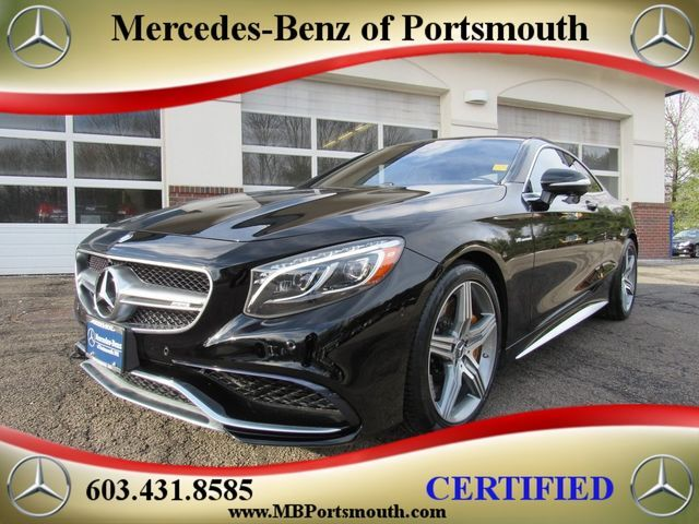 2016 Mercedes-Benz S-Class AMG® 63 Coupe