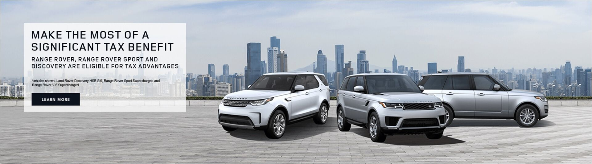 Land Rover Tax Advantage