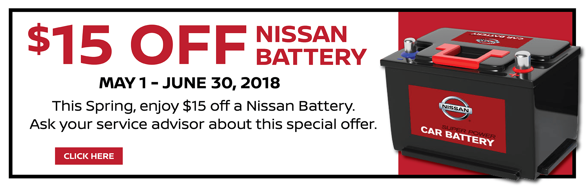 Nissan Battery Slider
