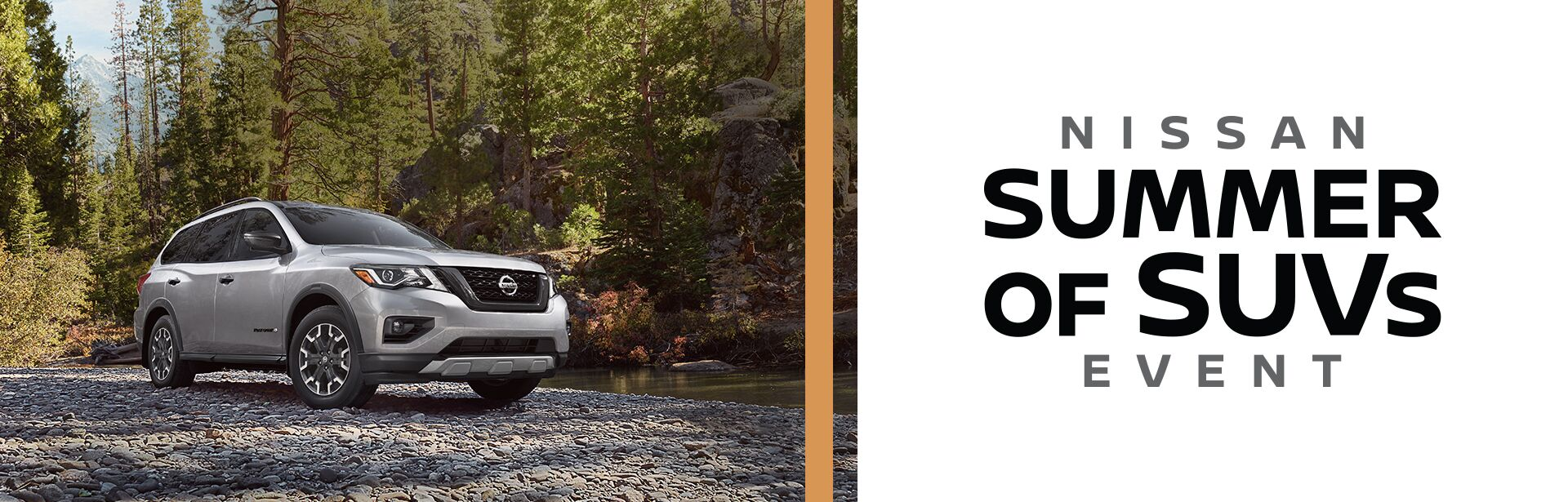 Nissan Summer of SUVs Event