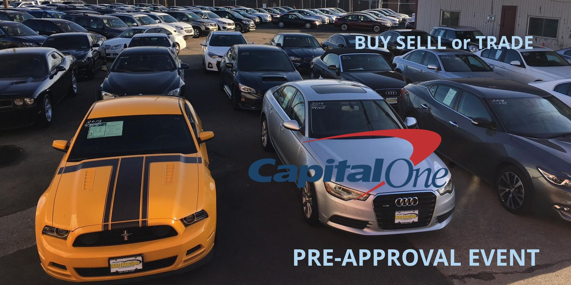 NJStateAuto Used Car Auction Lot