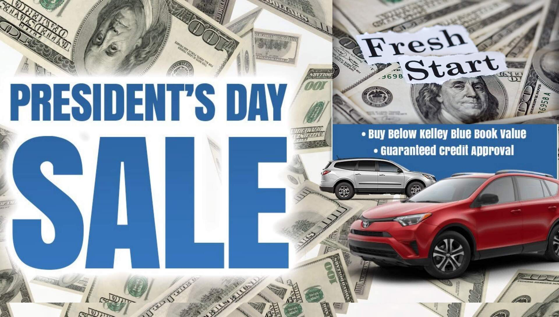 2018 President's Day Sale at NJ Auto Auction