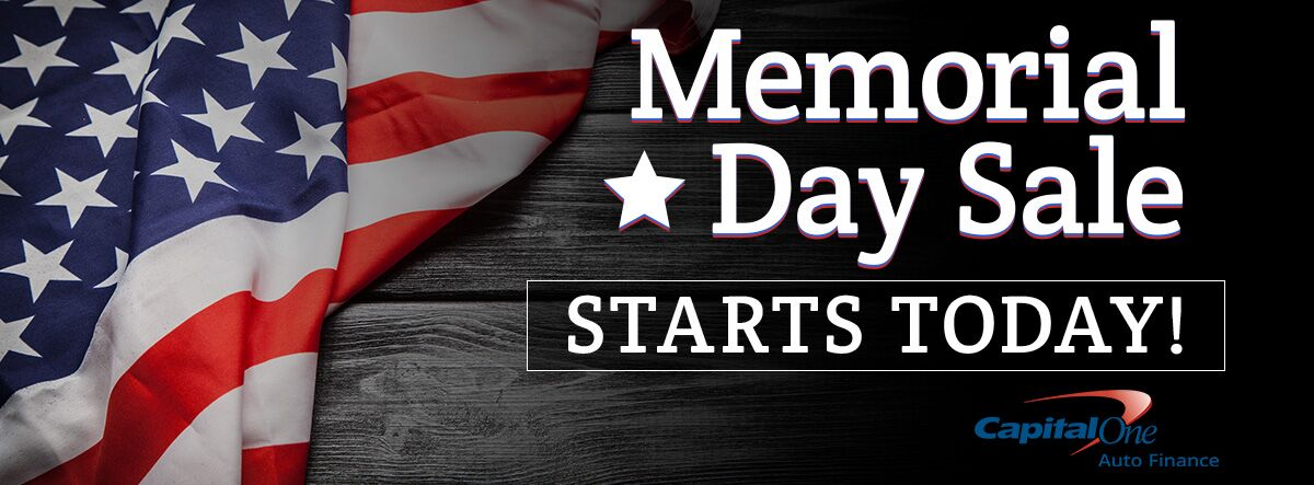Memorial Day Sale Starts Today!