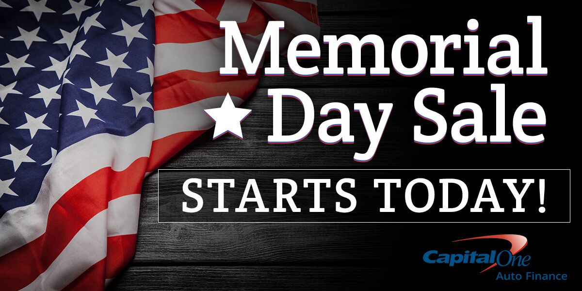 Memorial Day Sale Starts Today