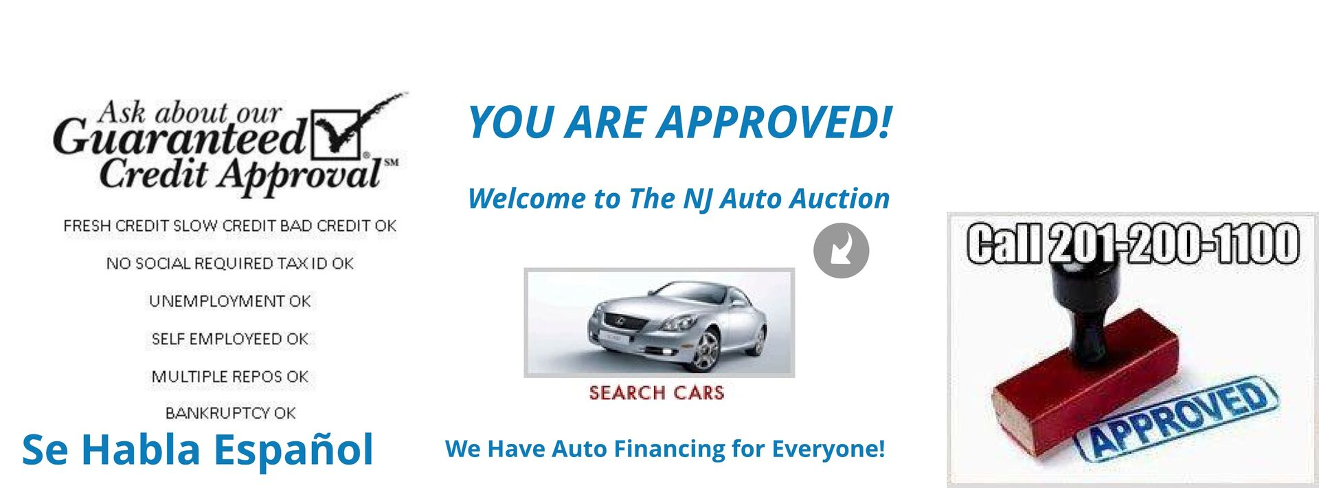NJ State Auto Auction | Jersey City Used Car Dealer