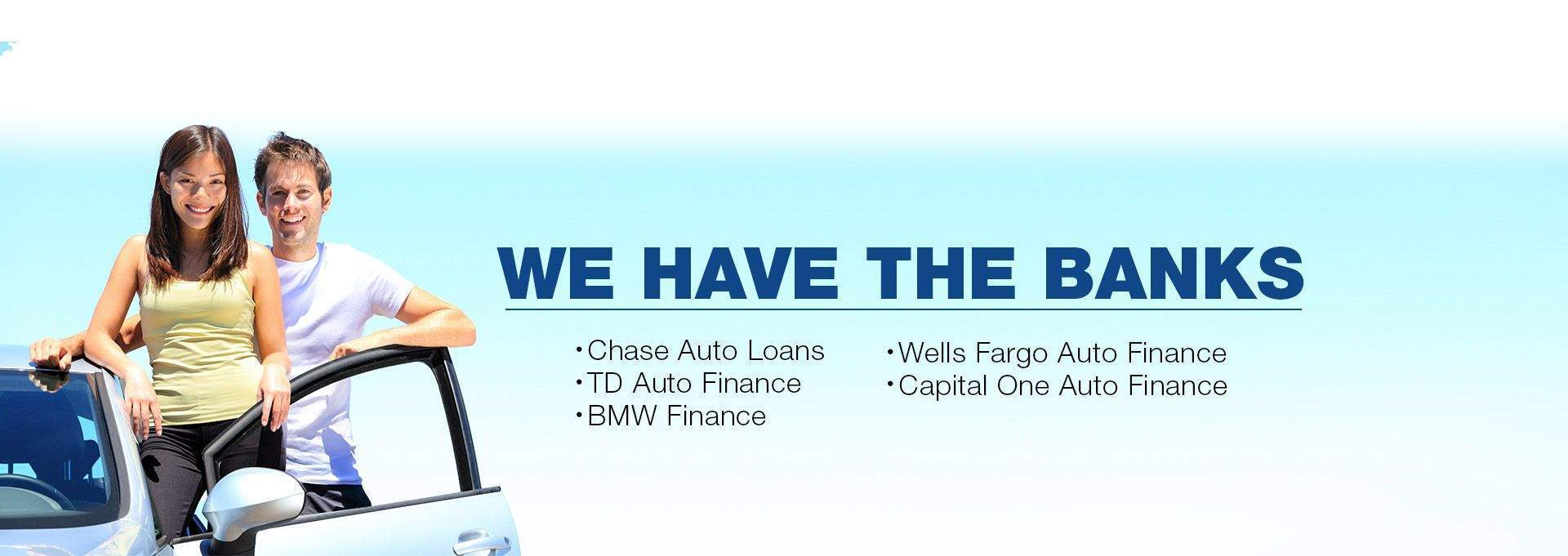 You Are Approved - We Have the Banks.