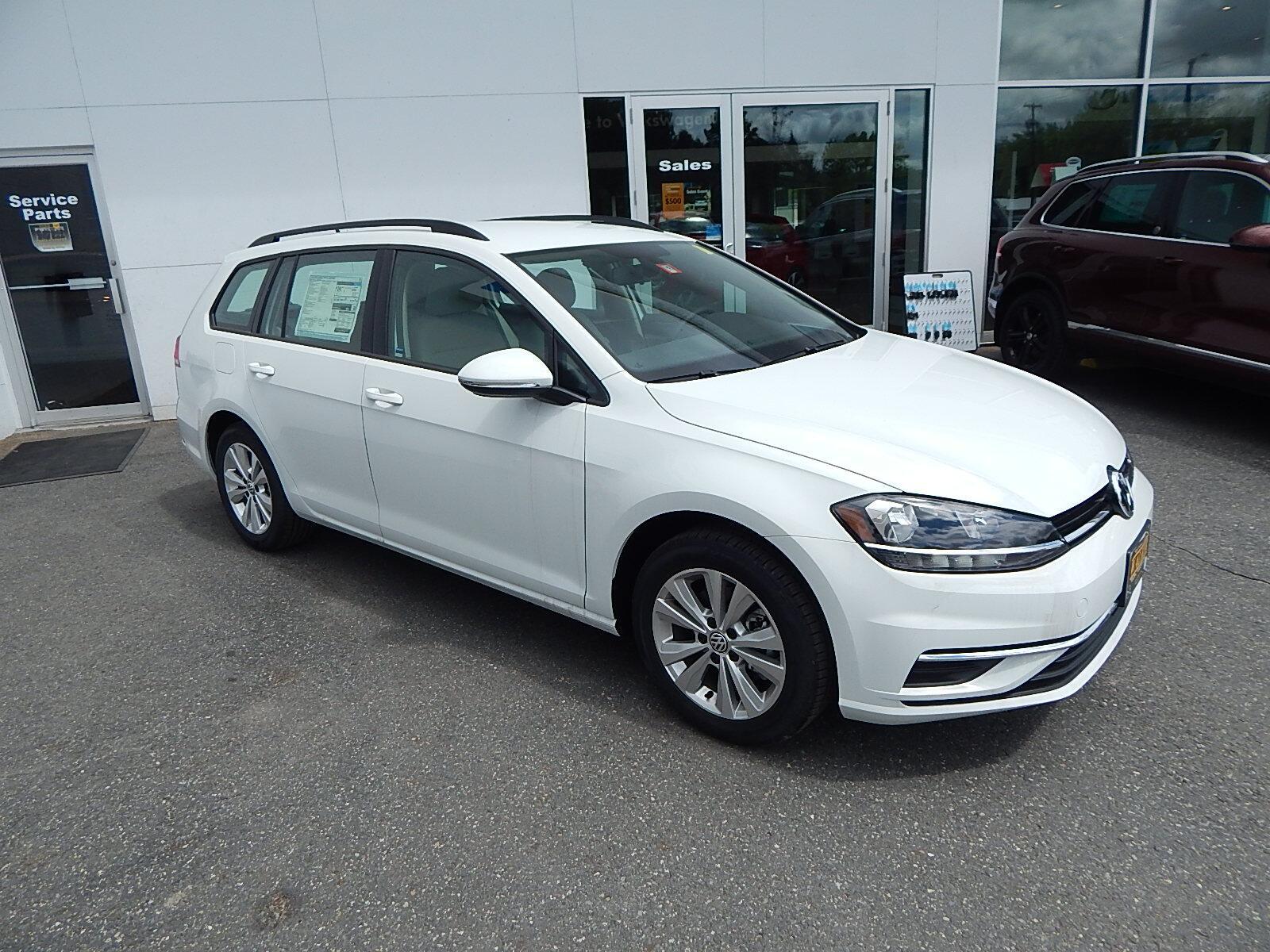 2018 Volkswagen Golf SportWagen S w/4Motion