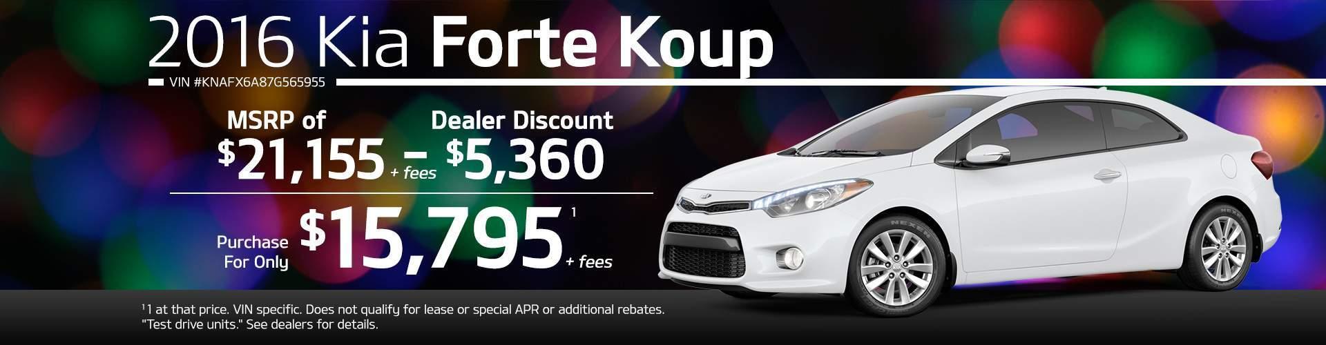 2016 Kia Forte Koup EX