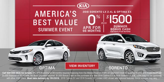 America's Best Value Summer Event at MY Kia