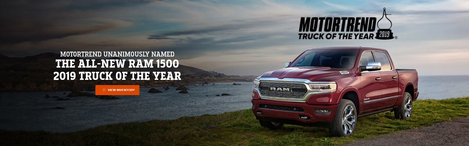 2019 Ram 1500 Motor Trend's Truck of the Year