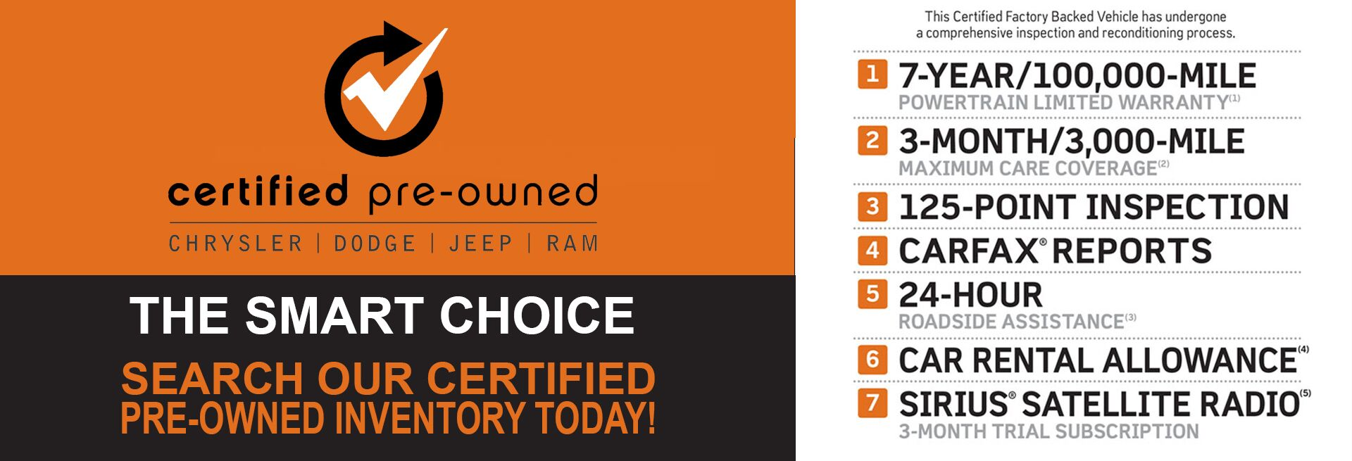MY Jeep Chrysler Dodge Ram Certified Pre Owned
