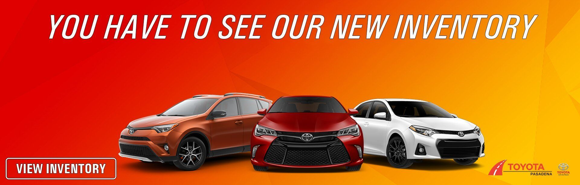 New Toyota Inventory