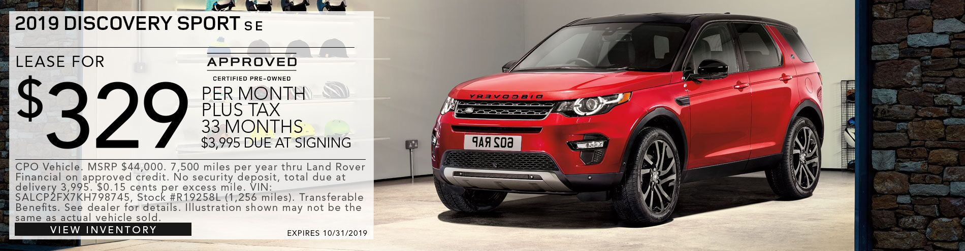 Discovery Sport SE CPO Vehicle