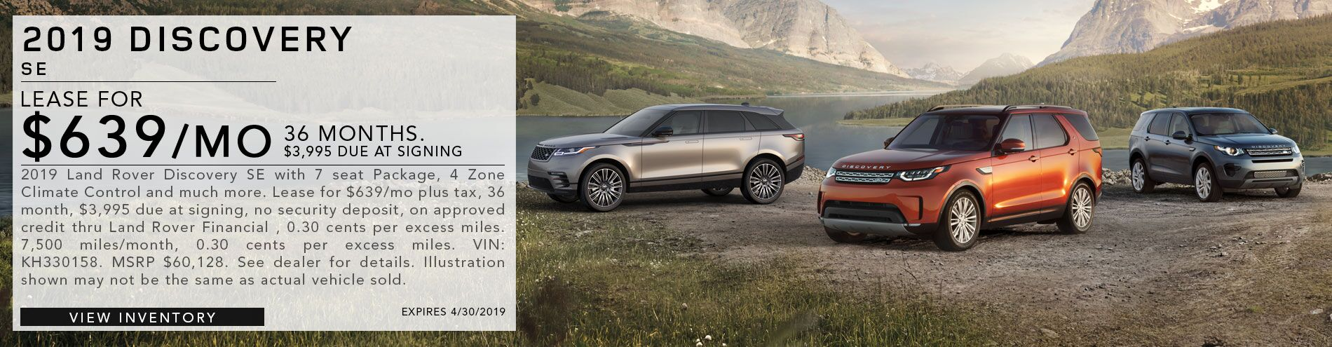 2019 Discovery SE