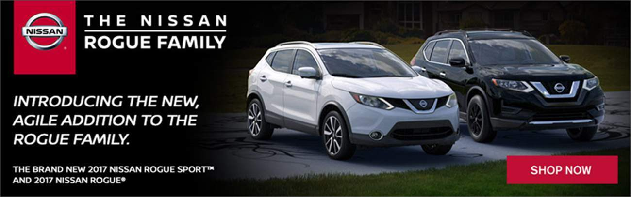 Nissan Rogue and Rogue Sport