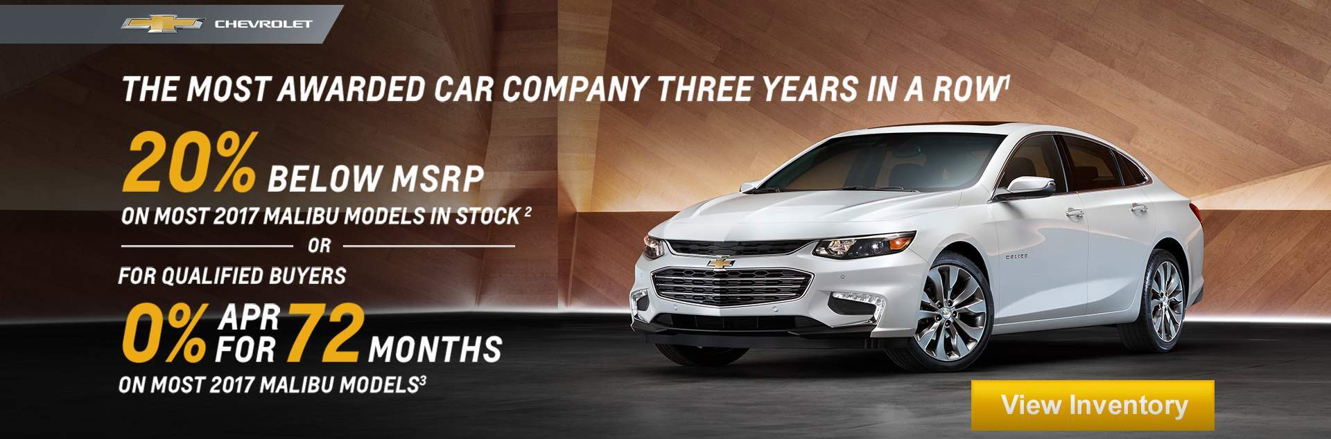 2017 Chevrolet Malibu 20% Off MSRP