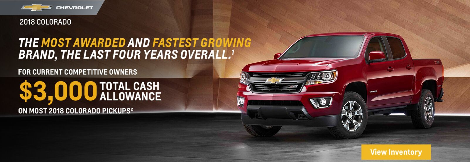 2018 Chevrolet Colorado Offers