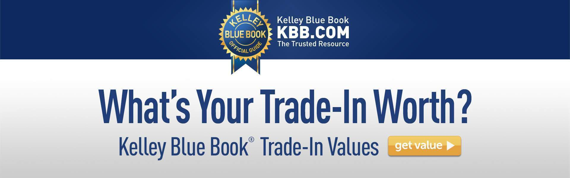 KBB What's Your Trade Worth