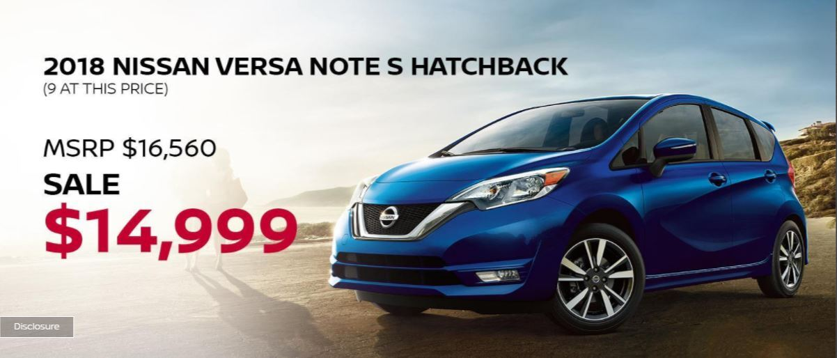 Nissan Versa Note 50th Anniversary