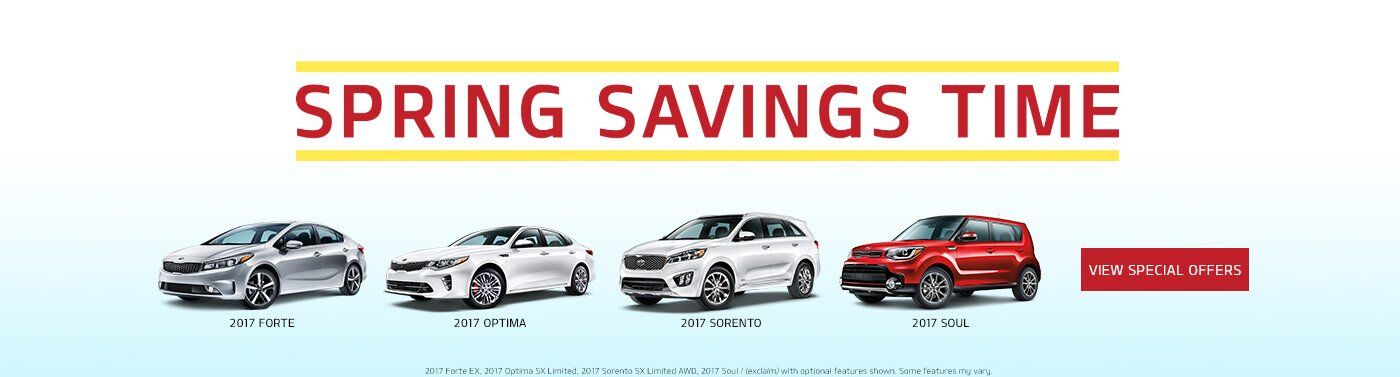 Spring Savings Time at Matt Castrucci Kia