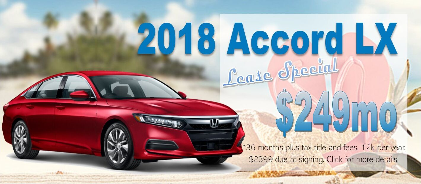 Honda Lease Special