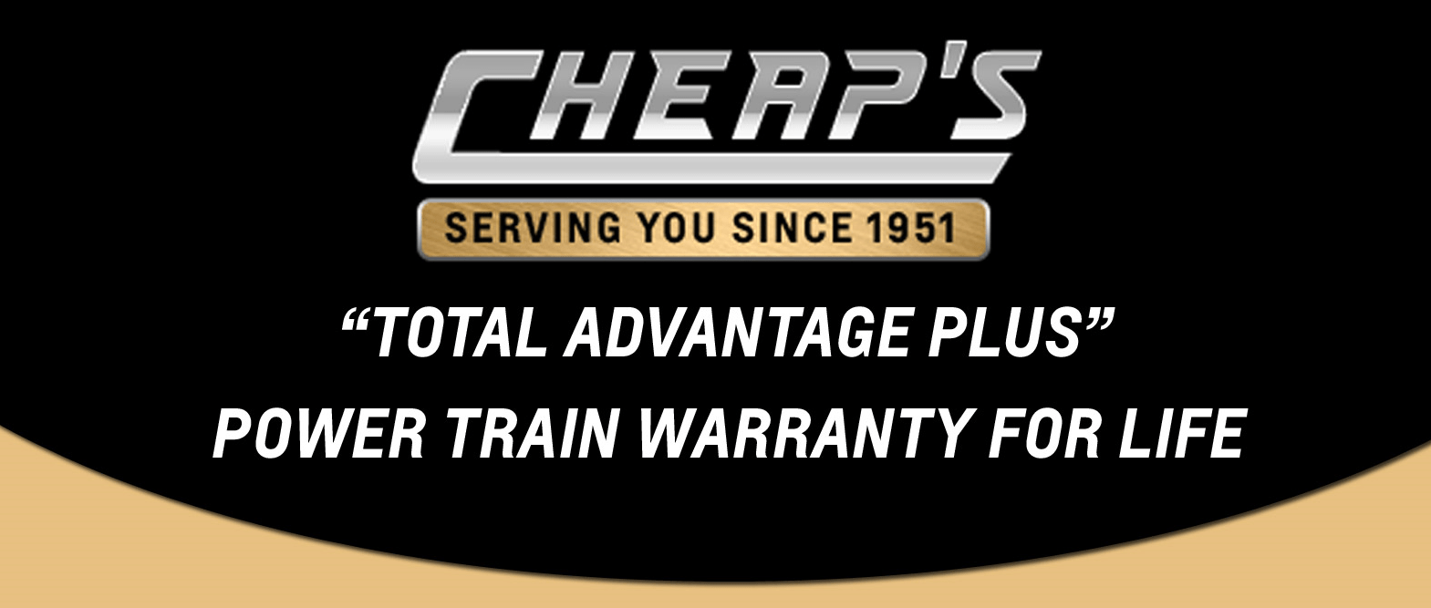 Lifetime Power Train Warranty Slide