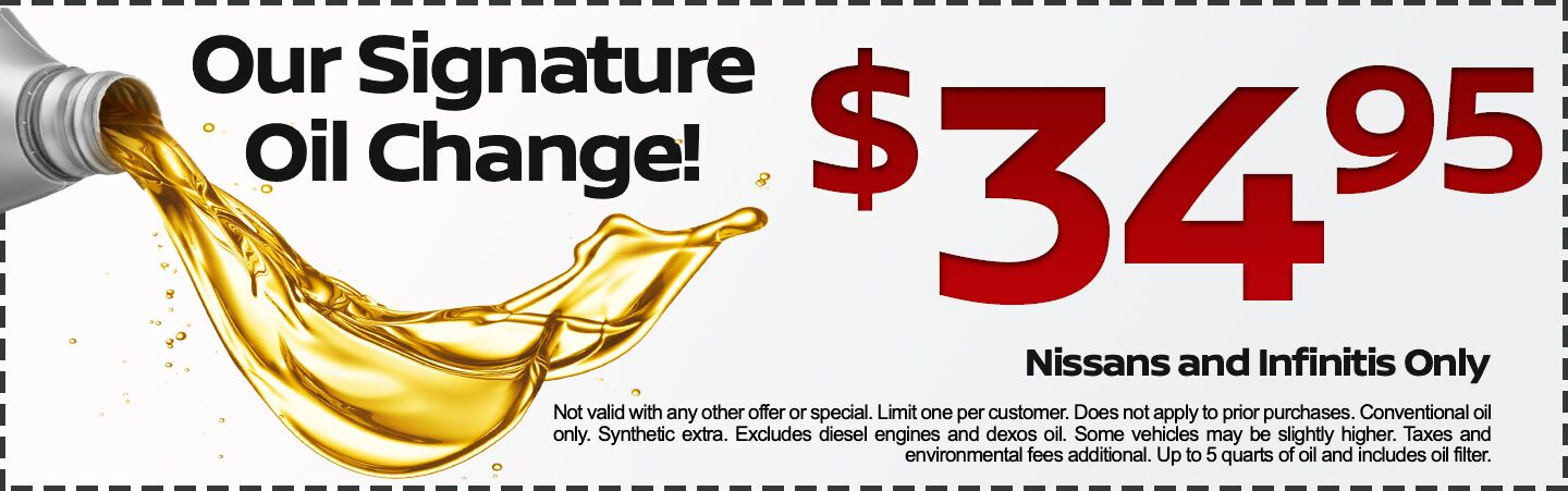 Our Signature Oil Change