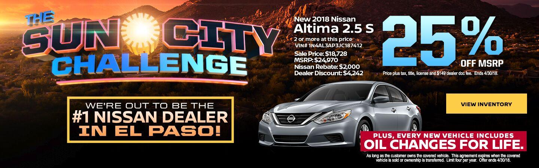 Toyota Dealership El Paso >> Nissan Dealership El Paso TX | Used Cars Charlie Clark Nissan El Paso