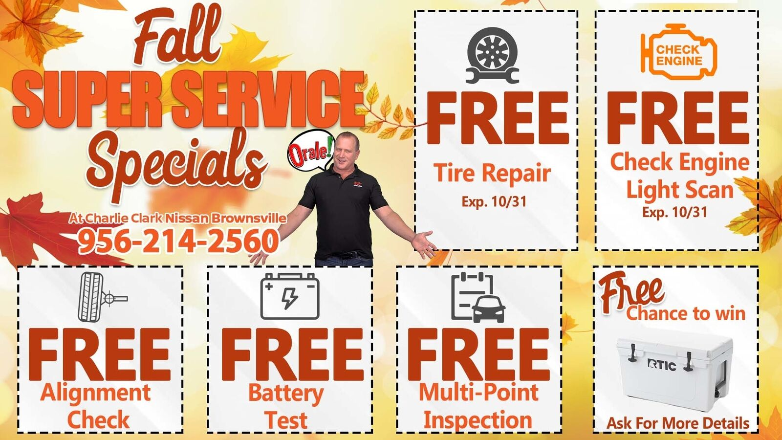 Fall Service Coupons