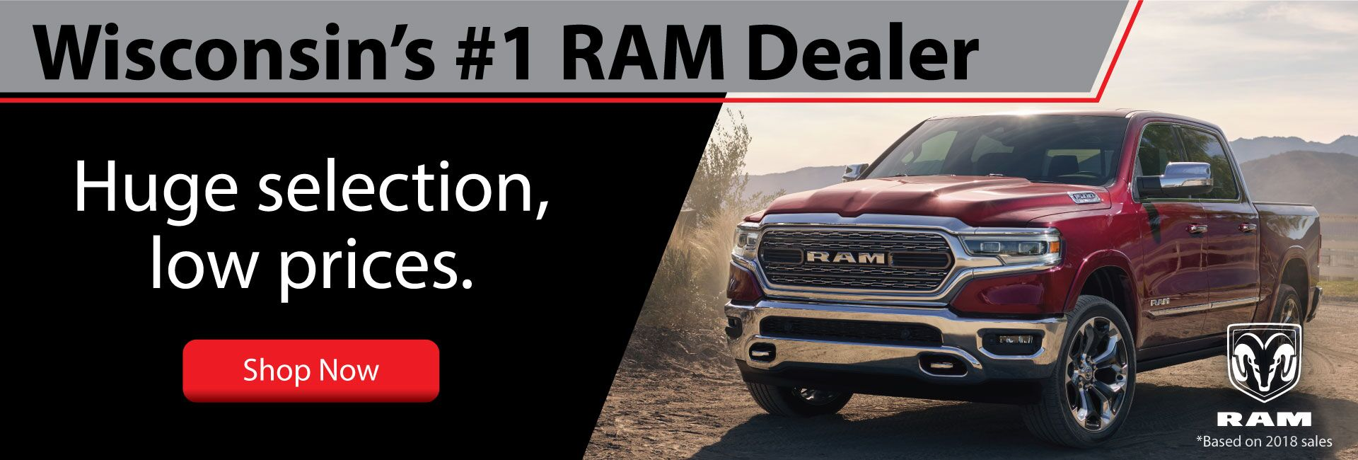 Wisconsin #1 RAM Dealer